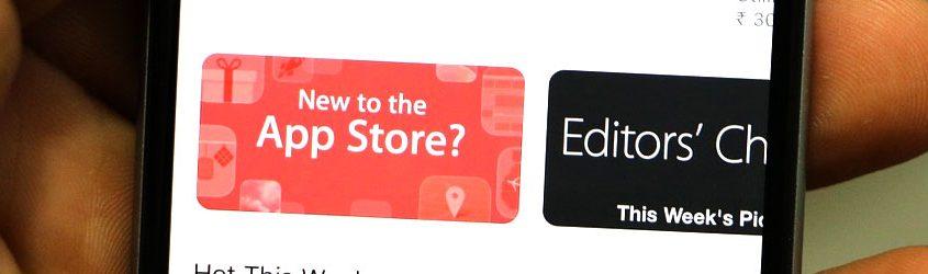 App Store: schermata dello store di applicazioni mobile di Apple