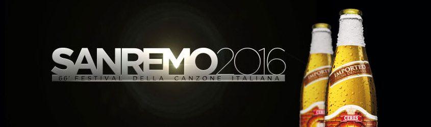 Campagna Ceres per Sanremo 2016