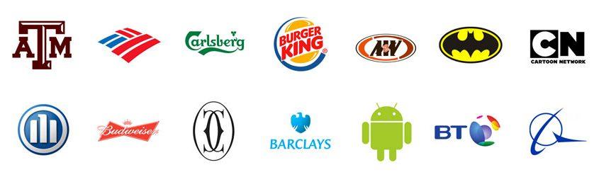 Logo, Marchio e Marca: serie di loghi di brand e aziende famose