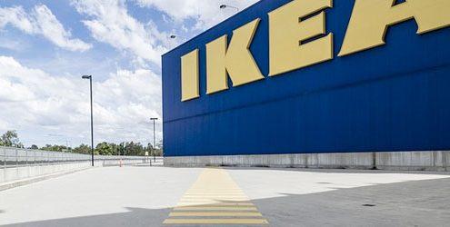 Esterno di un punto vendita Ikea