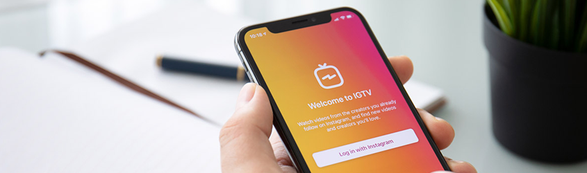 igtv, video, smartphone