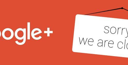 Google annuncia la chiusura del suo social network Google+