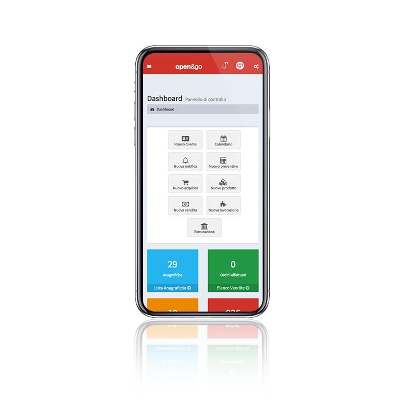 Schermata View Open&Go - Smartphone