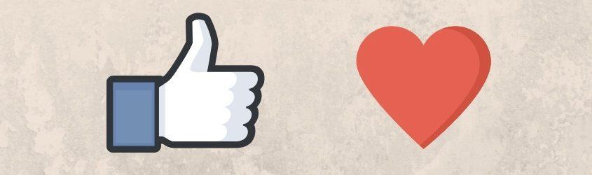 Esci dalla Friendzone delle Vendite: simbolo like in contrasto con il cuore che rappresentano la Friendzone