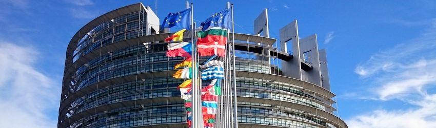 Fake News Elezioni Europee: veduta del parlamento europeo