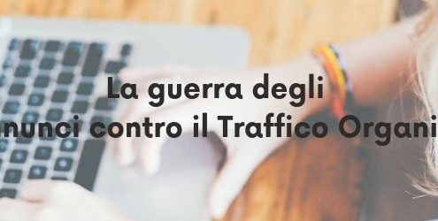 annunci o traffico organico