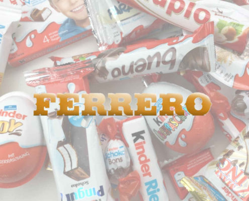 Ferrero - Modello di business - Marchi