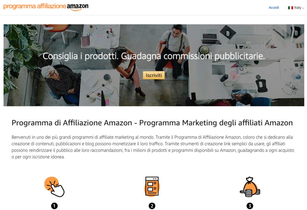 Strategie di web marketing - I casi di 5 Big Brands - Amazon