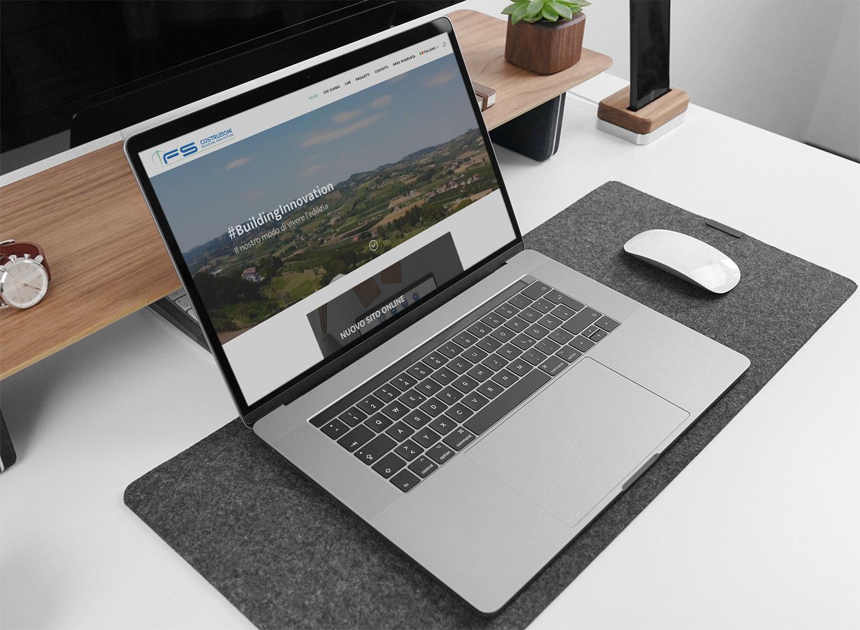 fs costruzioni web design