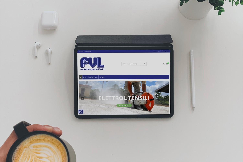 fvl materiali edili iPad