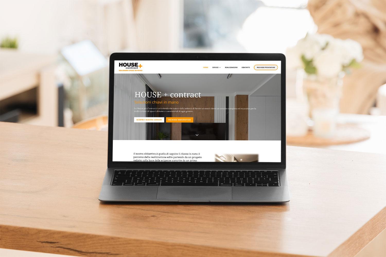 house più contract webiste