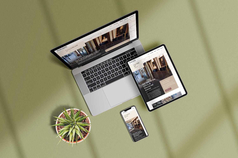 ottica bardelli responsive website