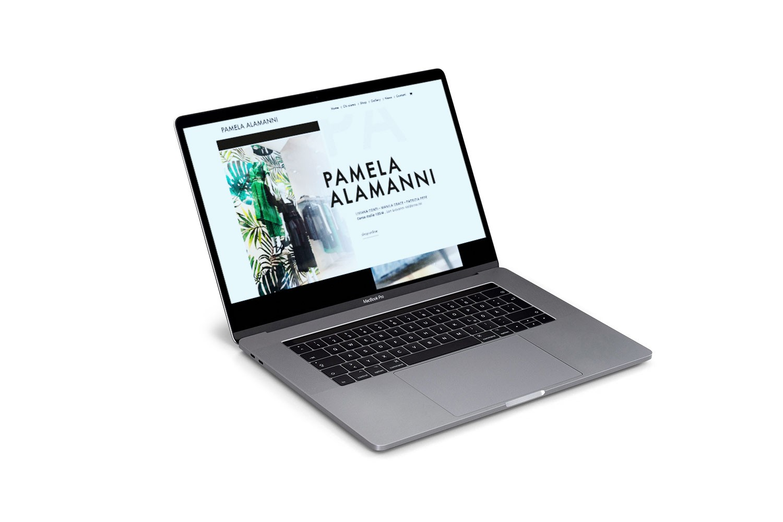 pamela alamanni web design
