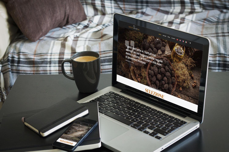 tartufo amore mio web design