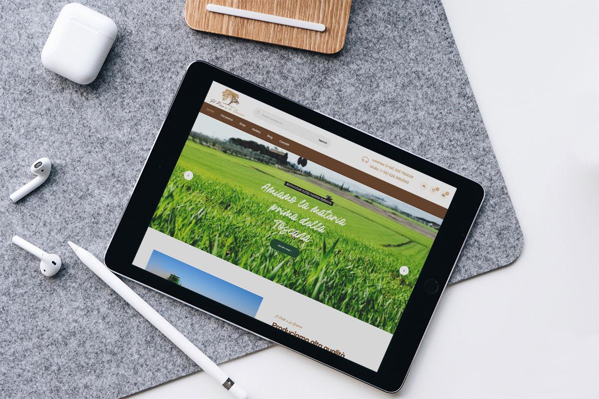 Il Pino e la Querce iPad