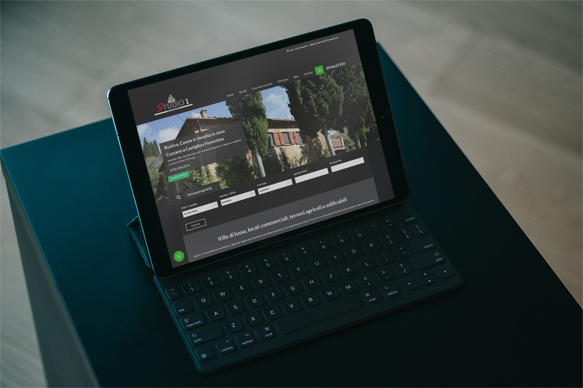 studio 1 immobiliare tablet